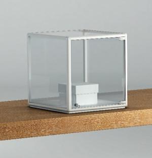 Teca da banco in cristallo