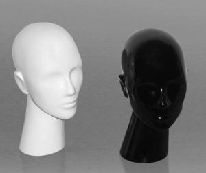 Gloss plastic display head