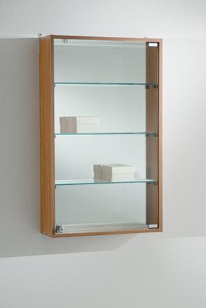 Vetrina da parete in cristallo