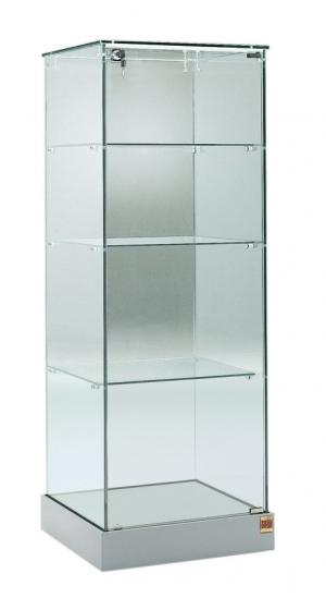 Vetrina in cristallo h 140 cm