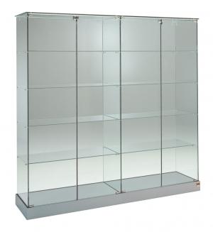 Vetrina in cristallo h 180 cm